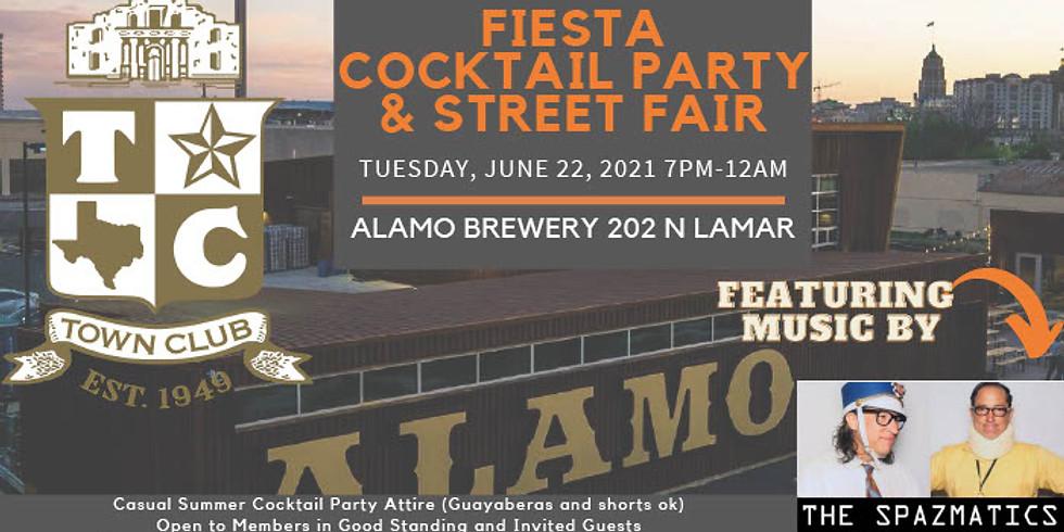 Town Club Fiesta Cocktail Party & Street Fair