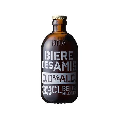 BIERE DES AMIS BLONDE 0.0% / ビアデザミブロンド0.0%/330ml