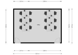 M7 Floorplan (12 person)