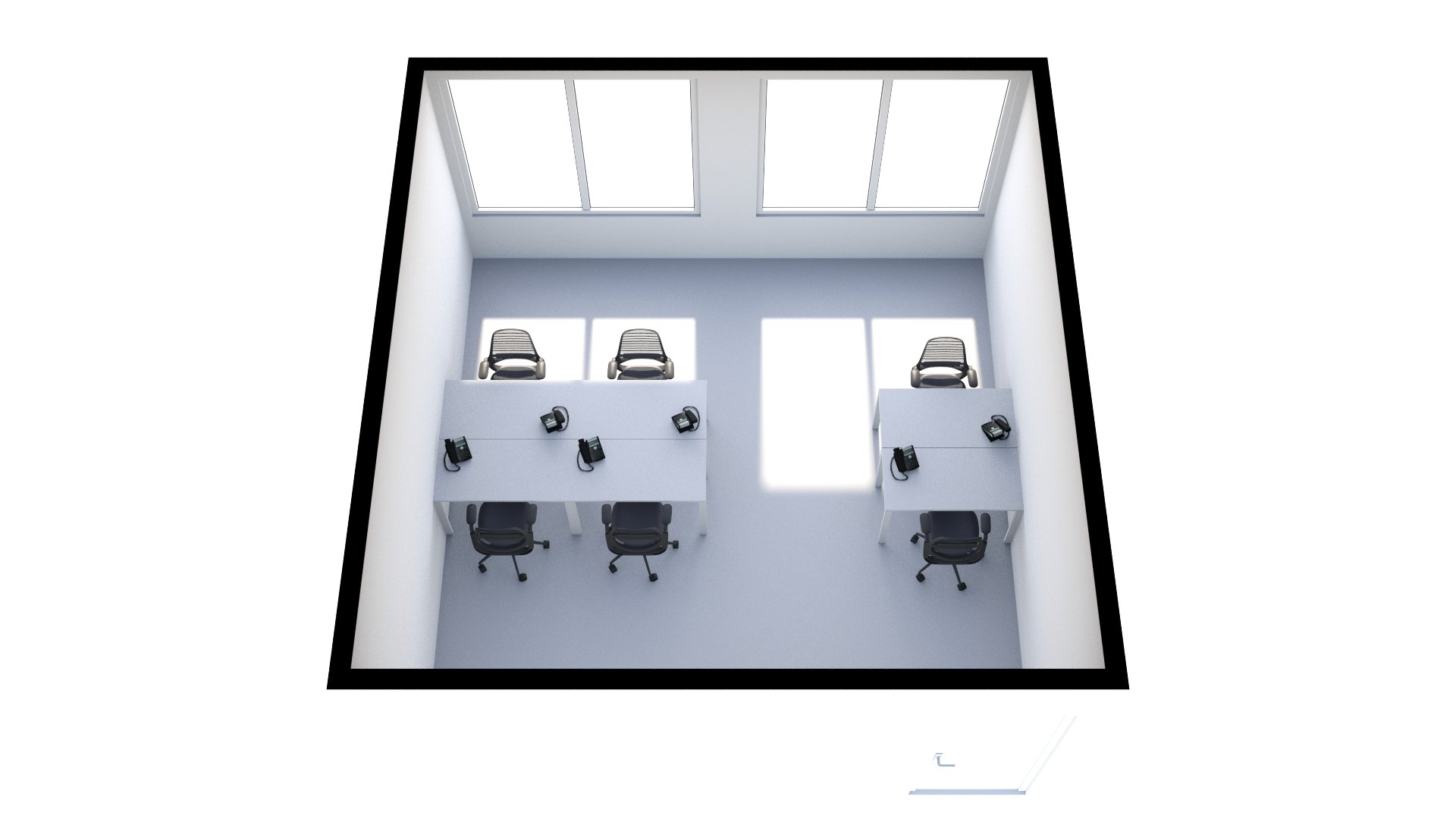 F3 Floorplan (3D View)