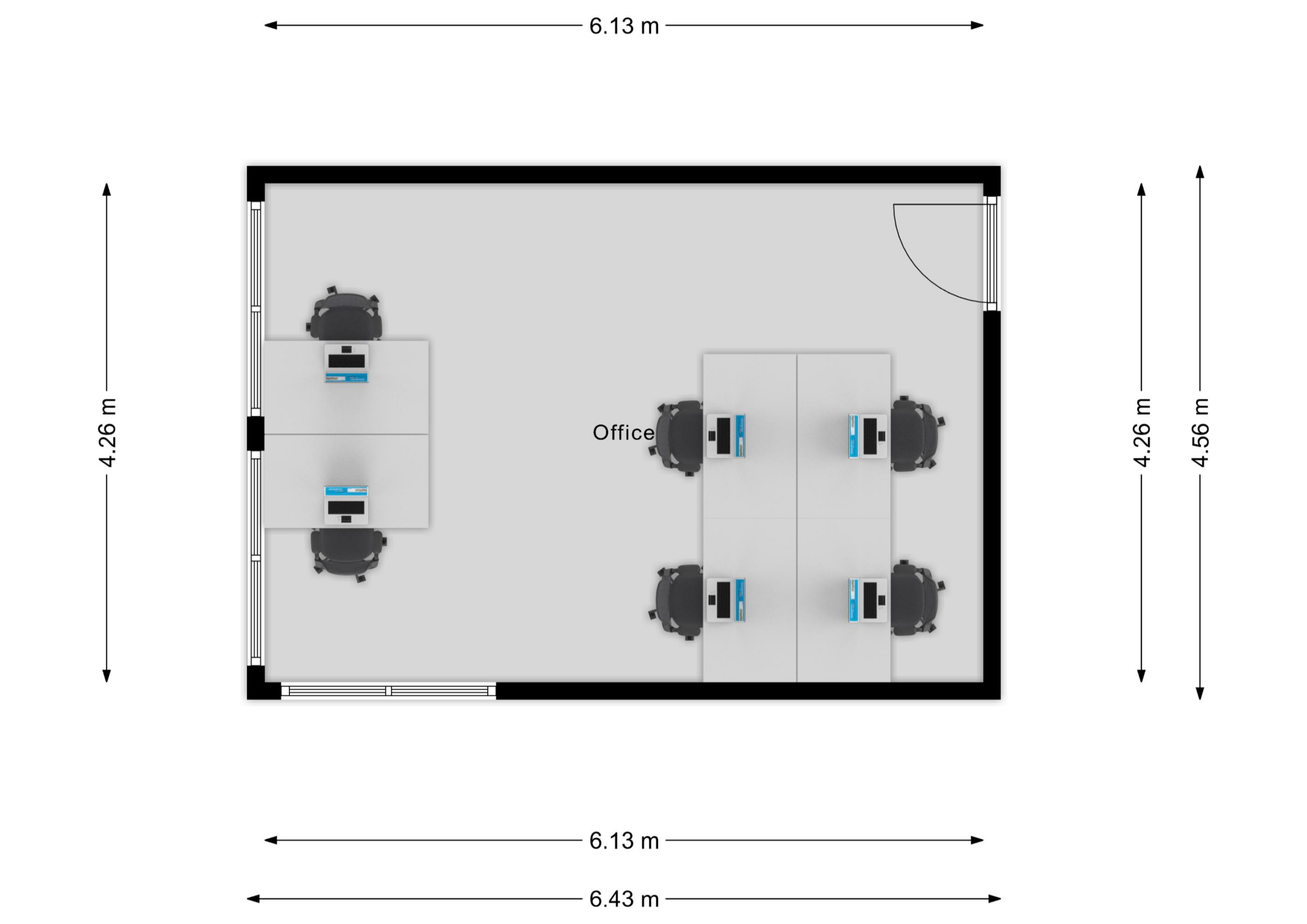 Office 2.03 Floor Plan