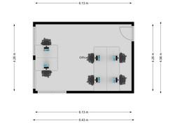 Office 2.03 Floor Plan