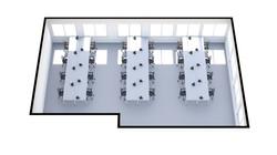 506-7 Floor Plan (3D) 24 Desks