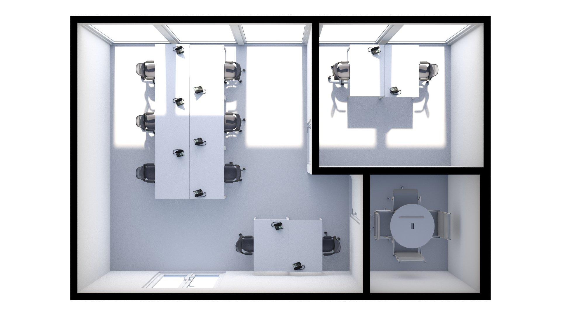 M1 Floor Plan (3D)