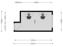 Office 408 Floorplan