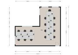 502-3 Floorplan (15 desk)
