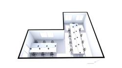 502-3 3D View (15 desk)