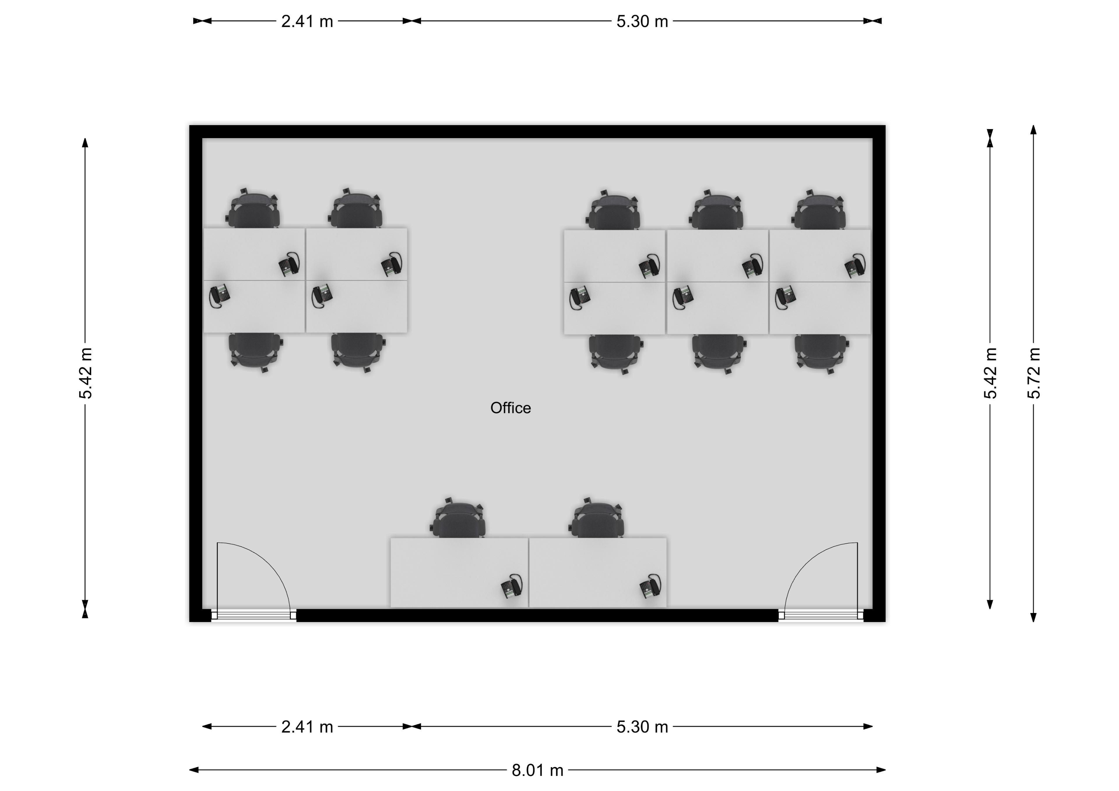 M7 Floor Plan (12 person)