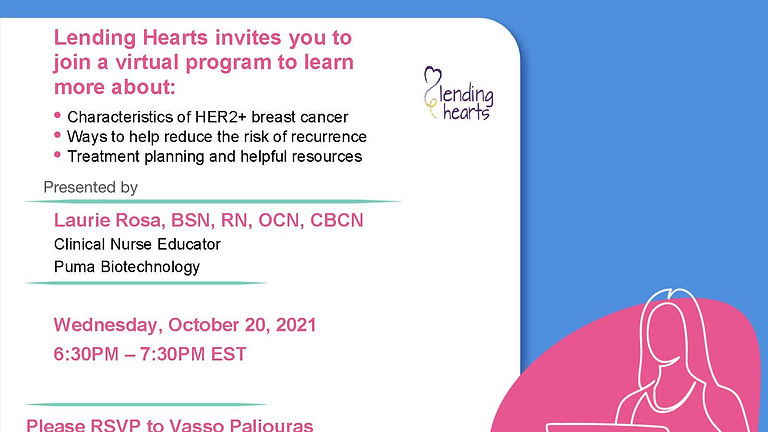 Reduce My Recurrence - Understanding HER2+ Breast Cancer Recurrence