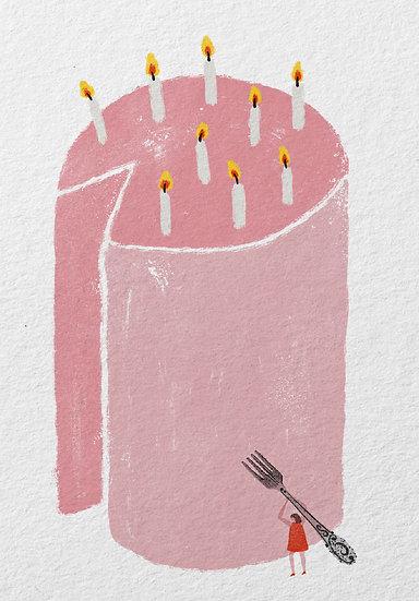Листівка CAKE