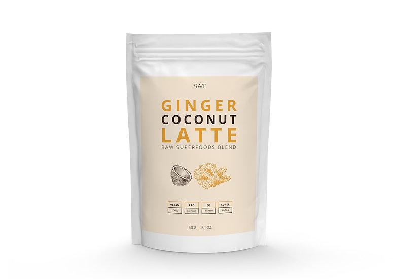 GINGER COCONUT LATTE   raw суміш суперфудів, 60 g