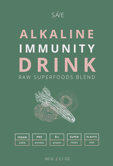 ALKALINE IMMUNITY DRINK | raw суміш суперфудів,60 g