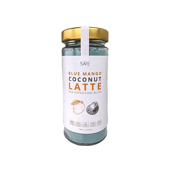 BLUE SPIRULINA & MANGO COCONUT LATTE | raw суміш суперфудів, 200 g
