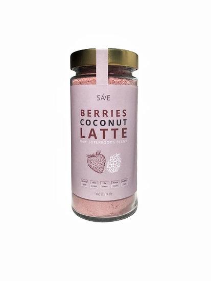 BERRIES COCONUT BLEND   raw суміш суперфудів, 200 g