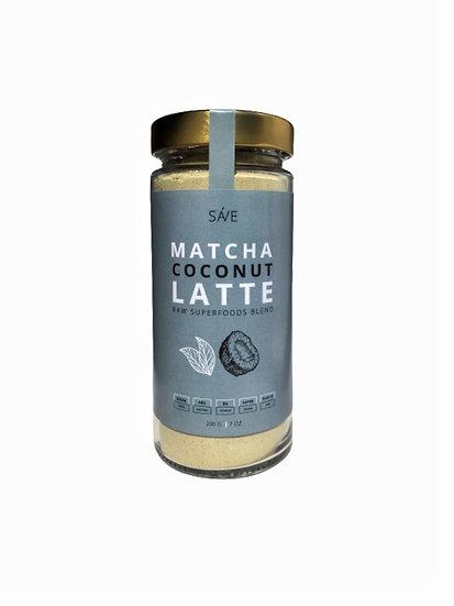 MATCHA COCONUT LATTE | raw суміш суперфудів, 200 g