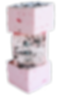 маршмеллоу малина-шампанское с крошкой ш