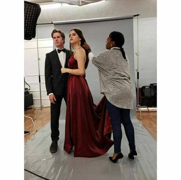 Bts at Bazaar Model agency