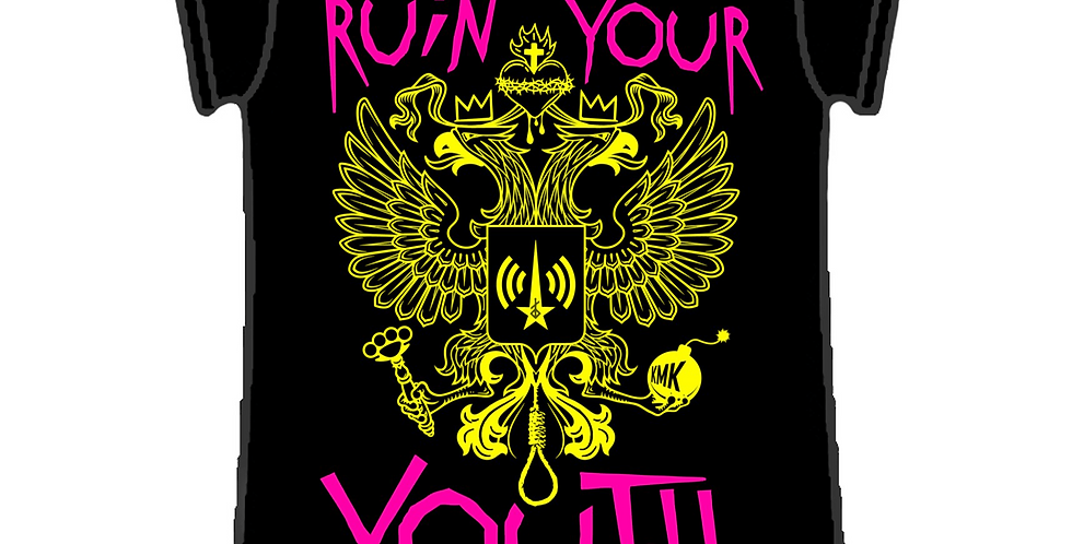RUIN YOUR YOUTH Eagle T Shirt Ladies Fit
