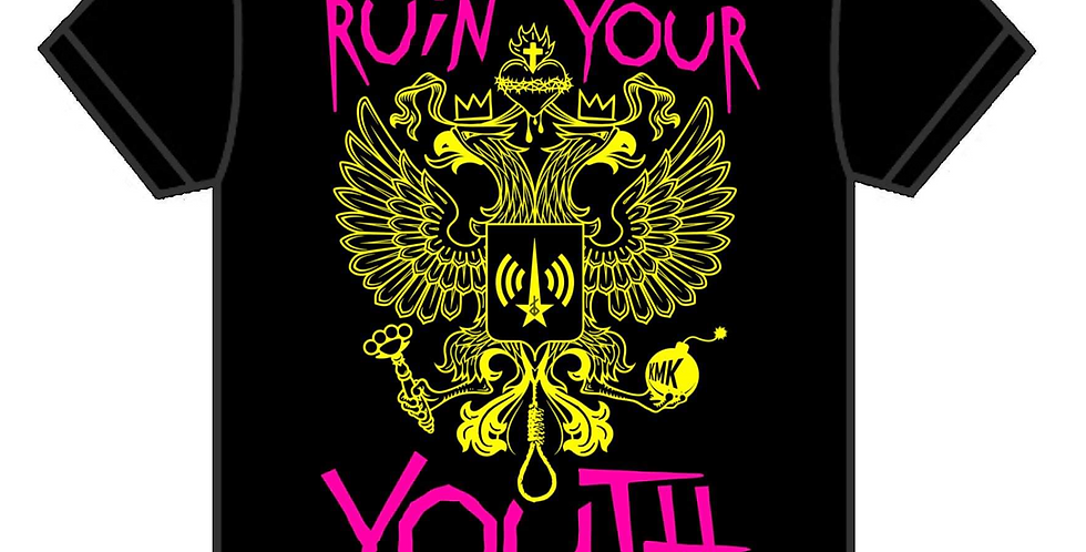 RUIN YOUR YOUTH Eagle T Shirt Regular Fit