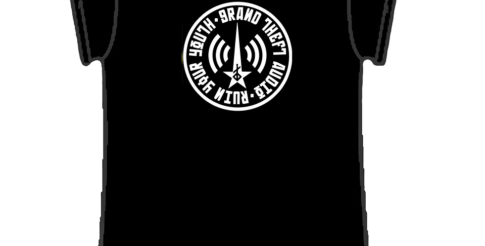 GTA RUIN YOUR YOUTH CIRCLE T Shirt Ladies Fit