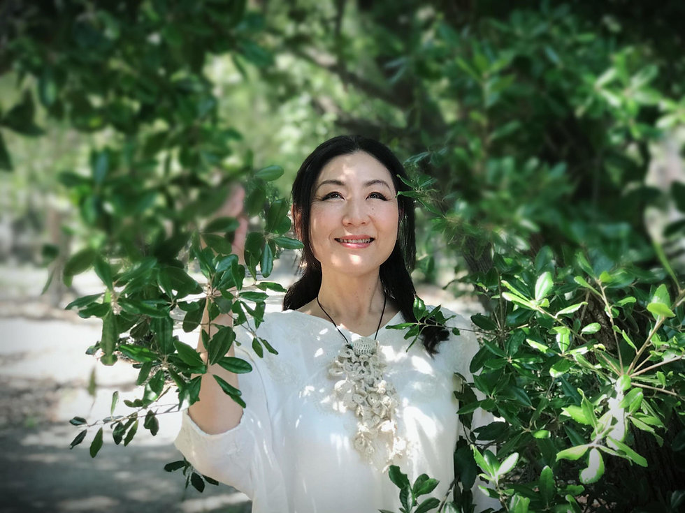 植物音楽ユニット「大地の種」海賀千代