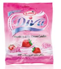 DIVA Candies Strawberry & Ice Cream |175 g|سكاكر الفريز والأيس كريم