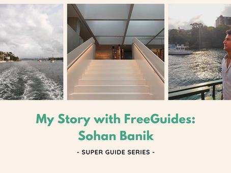 Sohan Banik: My Story with FreeGuides