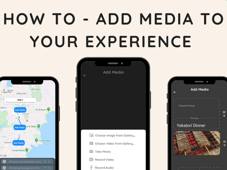 How to - Add media to your experience