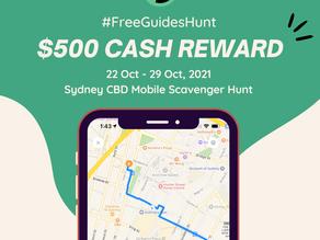 Sydney CBD Scavenger Hunt - $500 Grand Prize Awaits!