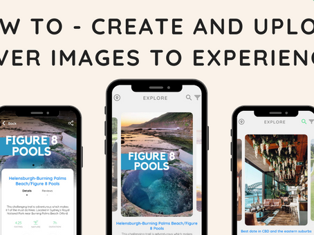 How to - create and upload cover images to experiences
