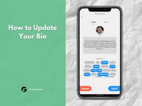 How to Update Your Bio