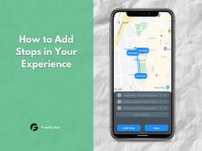 How to Add Stops in Your Experience