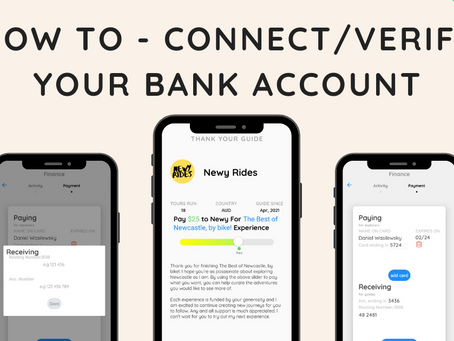 How to - Connect/verify your bank account