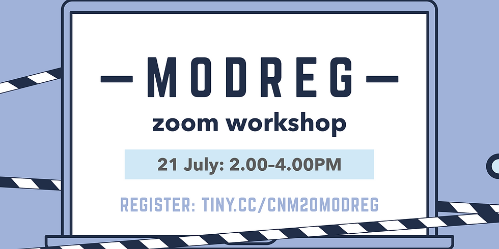 ModReg Zoom Workshop
