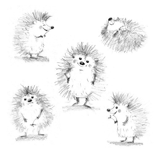 character design, sketch, pensil drawing, funny, cute, illustration