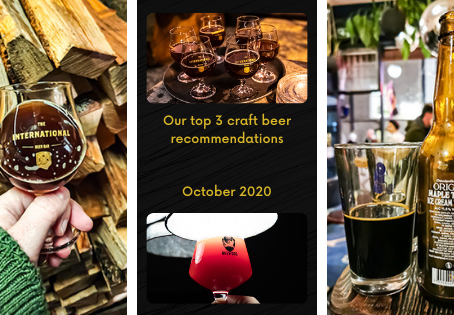 Our top 3 craft beer recommendations for October 2020 - Duckpond - Omnipollo - Uiltje