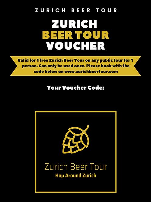 Beer Tour Gift Voucher
