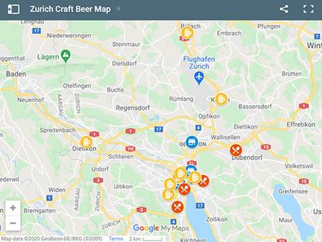 Zurich Craft Beer Map