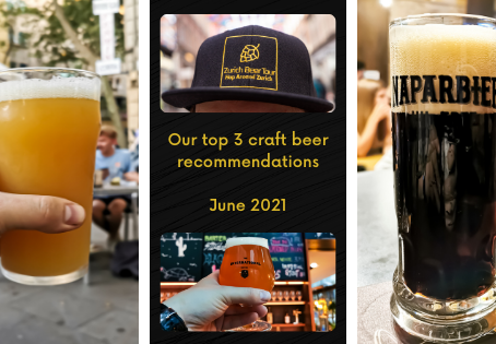 Top 3 craft beer recommendations for June 2021- Ayinger - Mad Squirrel - Freddo Fox