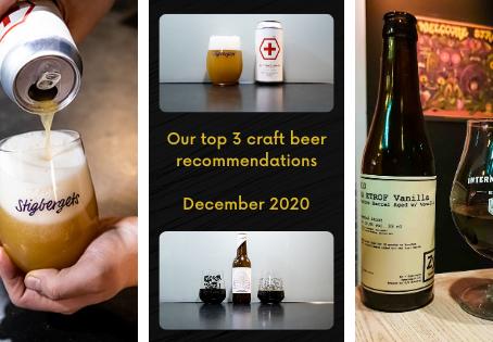 Top 3 craft beer recommendations for Dec. 2020 - Zymologic - Atelier der Braukünste - WhiteFrontier