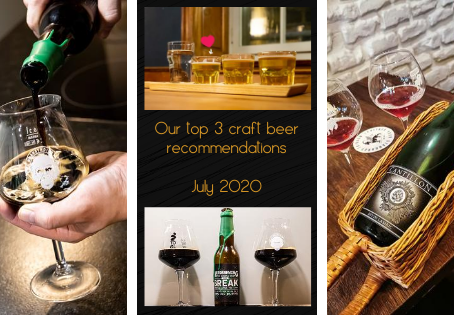 Our top 3 craft beer recommendations for July 2020 - Bear'n'Stein - Cantillon - Nerdbrewing