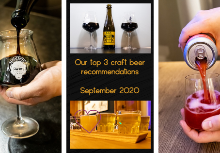Our top 3 craft beer recommendations for September 2020 - Duckpond - Bear'n'Stein - Mikkeller