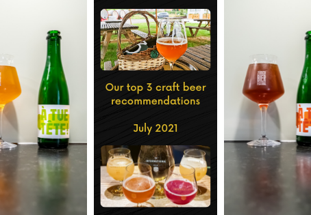 Top 3 craft beer recommendations for July 2021- Bierol - 3 Fonteinen - À tue-tête