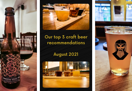 Top 3 craft beer recommendations for August 2021 - Labietis - BIERlab - Sori Brewing