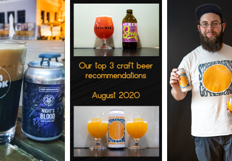 Our top 3 craft beer recommendations for August 2020 - St. Laurentius - Stigbergets - Hop Hooligans