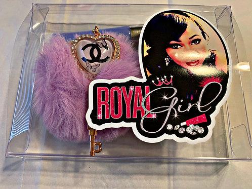 royal girl designer keychains