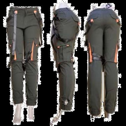 SIDE NEON CARGO PANTS W/STRAP