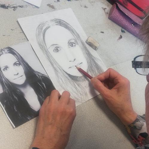 Cours de dessin/peinture (adultes et adolescents)