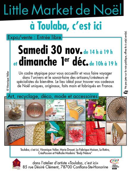 Little Market de Noël Toulaba