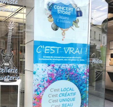 """Toulaba, c'est ici au Concept Store  """"C'est Vrai"""" à Enghien Les Bains"""